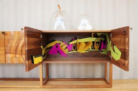 muebles con graffiti 3