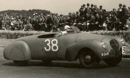 Maurice Gatsonides en carrera