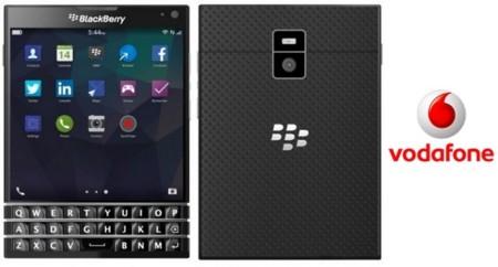 BlackBerry Passport llega a Vodafone, pero solo para profesionales