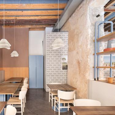 28 Posti, un restaurante de moda en Milán, con rediseño de Cristina Celestino