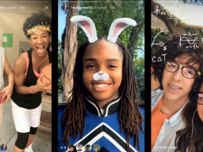La pesadilla de Snapchat ha llegado: Instagram lanza oficialmente los filtros faciales en sus historias