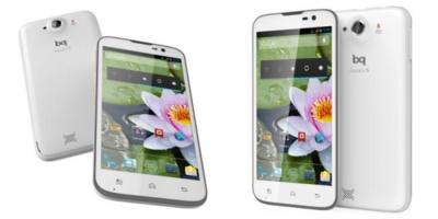bq Aquaris 5, 5HD y 5.7, ya disponibles sus actualizaciones a Android 4.4.2