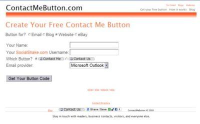 Contact Me Button, botón de contacto para añadir a nuestra web