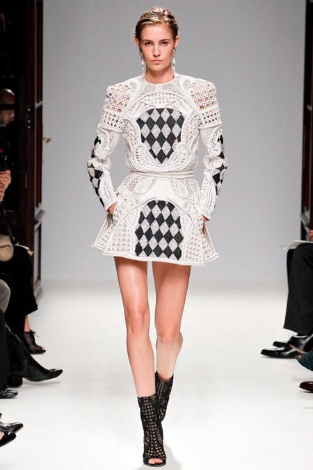 Balmain Ss2013 Vestido