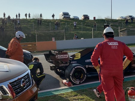 Ricciardo Barcelona F1 2020