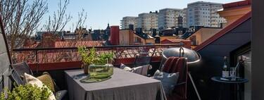 La semana decorativa: terrazas urbanas y en casas de veraneo, materiales de primavera y rincones de trabajo