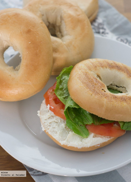 Brunch. Bagels