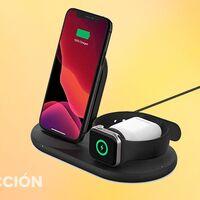 Amazon te pone la base de carga para iPhone y Apple Watch más a tiro que nunca: Belkin Boost Up por sólo 73 euros