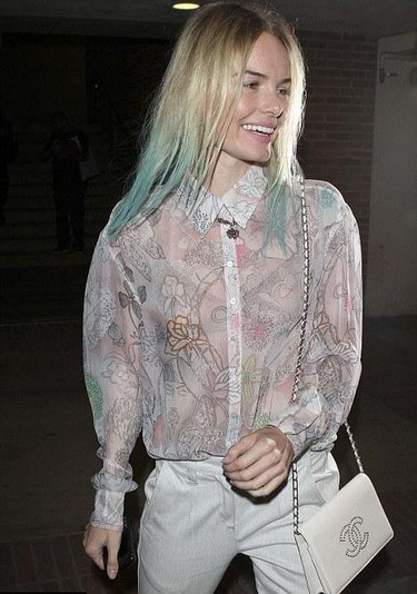 ¡Horror! Kate Bosworth se pasa al lado punk...