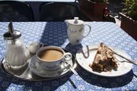 El relaxing cup of café con leche, mejor no en Plaza Mayor