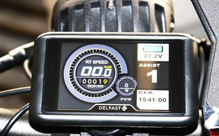 Delfast Topcop Bicicleta Electrica Policia America 1