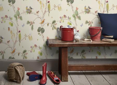 Aclarando dudas: ¿Compagina el papel pintado de estilo clásico con mobiliarios de otros estilos?