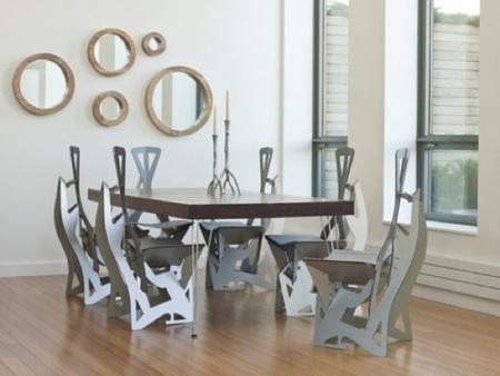 Plegables y para colgar, ¿serán así las sillas del futuro?