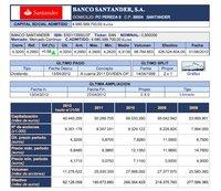 Santander y Popular, dos bancos que valen 5.000 y 6.000 millones menos en bolsa que su valor contable