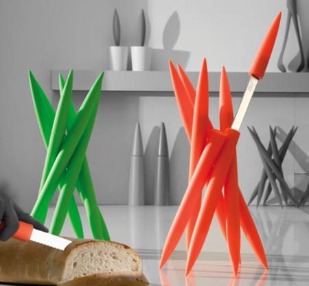 Espectacular set de cuchillos Legnoart