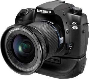 Samsung GX-20, posible próxima DSLR