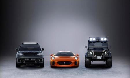 Jaguar Land Rover se une al elenco de Spectre