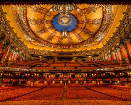 Fox Theater Located In Detroit Michigan 2