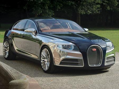 Primeras imágenes del Bugatti Galibier 16C Concept
