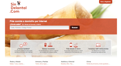 Just Eat compra la española SinDelantal
