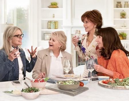 Tráiler de 'Book Club': Diane Keaton, Jane Fonda, Candice Bergen y Mary Steenburgen se desatan tras leer '50 sombras de Grey'