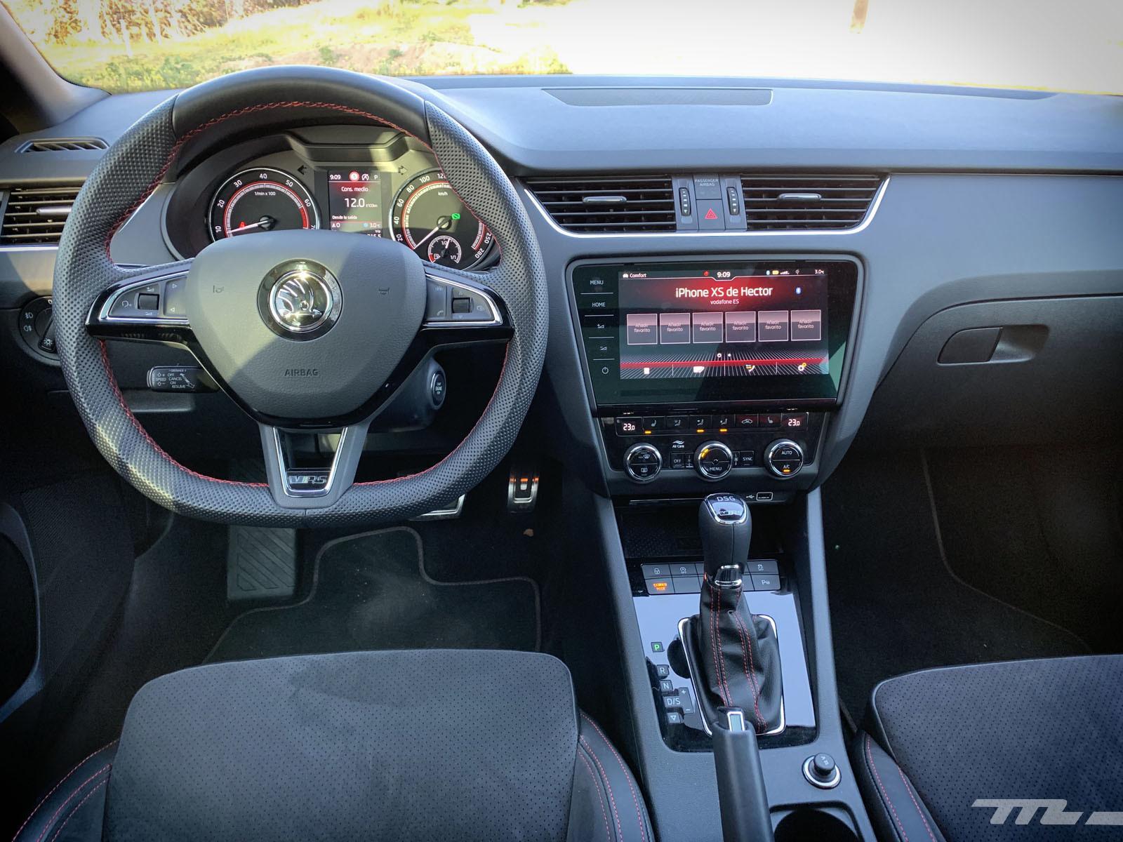 Foto de Škoda Octavia Combi RS 245 (prueba) (7/55)