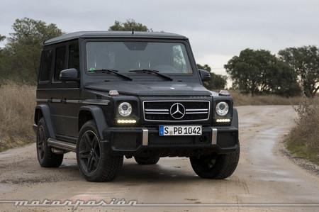 Mercedes G 63 AMG prueba