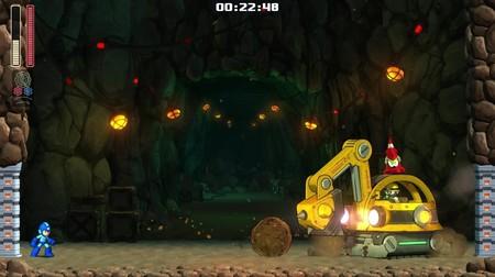 Mega Man 11 Pickman Digger