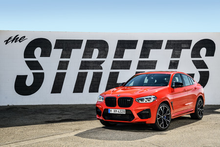 BMW X4 M Competition delantero lateral