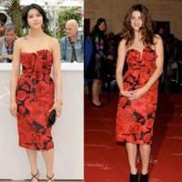 Vestido de Dior: ¿Kim u Olivia?