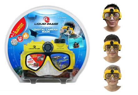 Gafas de bucear con cámara digital Liquid Image