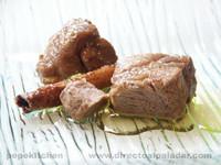 Lomo en aceite a la canela. Receta tradicional