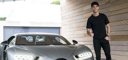 Ya hay un Bugatti Chiron con matrícula española, el de Cristiano Ronaldo