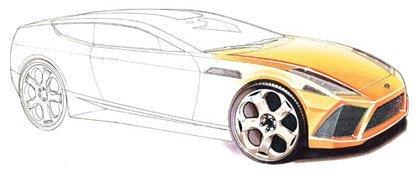 2009 Lamborghini Espada, una animación interesante