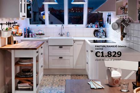 Otra cocina de Ikea interesante
