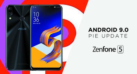 ASUS Zenfone 5 empieza a recibir la actualización a Android Pie