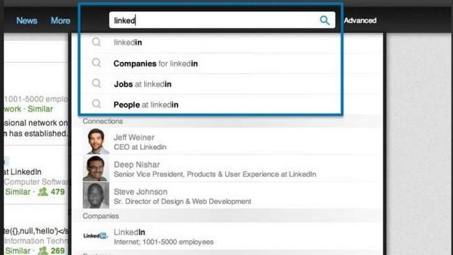 La búsqueda dentro de LinkedIn recibe mejoras y se hace más inteligente