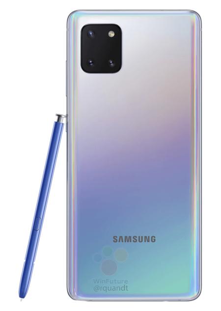 Samsung Galaxy Note 10 Lite Render Oficial Aura Glow