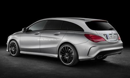 ¿Llegará un Mercedes-Benz CLA Shooting Brake?