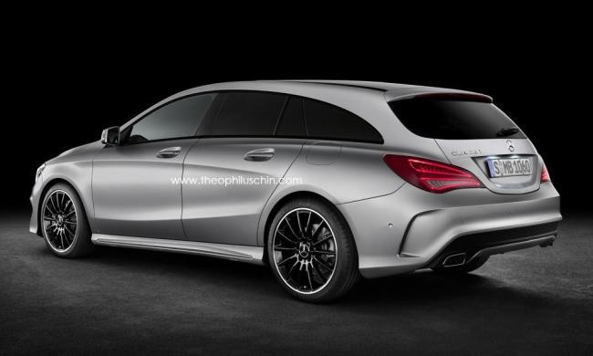 Mercedes-Benz CLA Shooting Brake (rendering)
