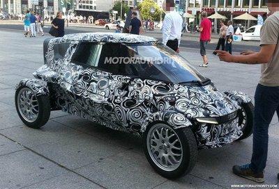 Cazado un pequeño Audi ¿eléctrico?
