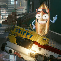 Las mejores armas gratis de Cyberpunk 2077: Skippy