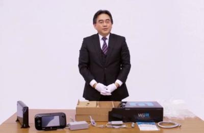"""El """"striptease"""" de la Wii U con Iwata: Imagen de la semana"""