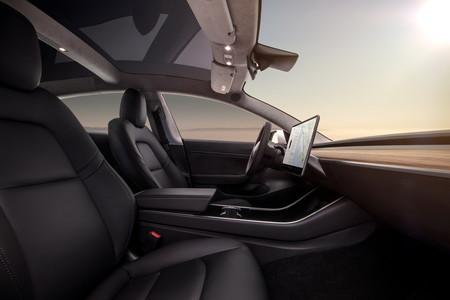 Model 3 Interior Tesla