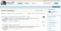 The Point, creando campañas online para determinadas causas
