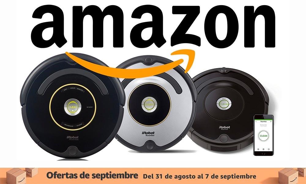 Estos robots aspirador de iRobot están rebajados en las ofertas de septiembre de Amazon