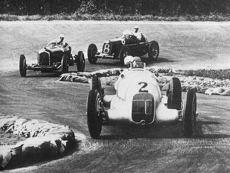 Las flechas de plata de Auto Union y Daimler-Benz cumplen 75 años (Parte 2)