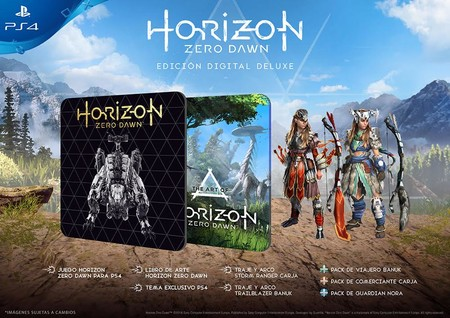 Horizon Zero Dawn Edicion Digital Deluxe