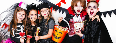 Siete maquillajes de Halloween para niños, fáciles y terroríficos