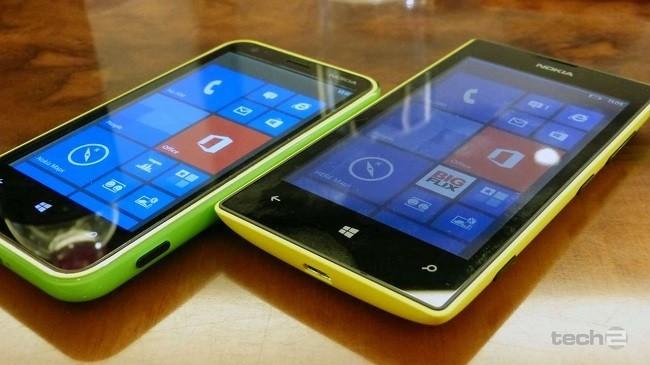 Nokia Lumia 520 y Nokia Lumia 620